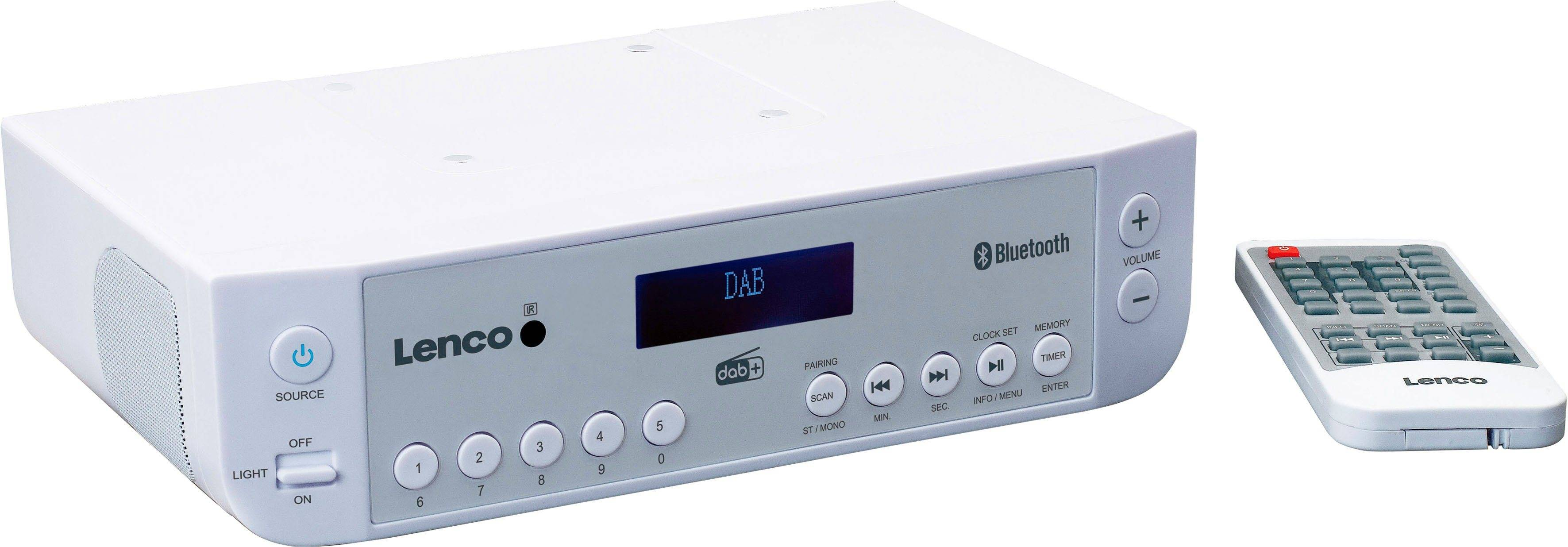 Lenco »KCR-200« Küchen-Radio (Digitalradio (DAB), FM-Tuner mit RDS)