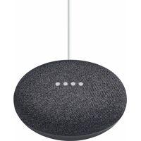google home mini sprachgesteuerter lautsprecher (wlan (wifi), bluetooth), karbon