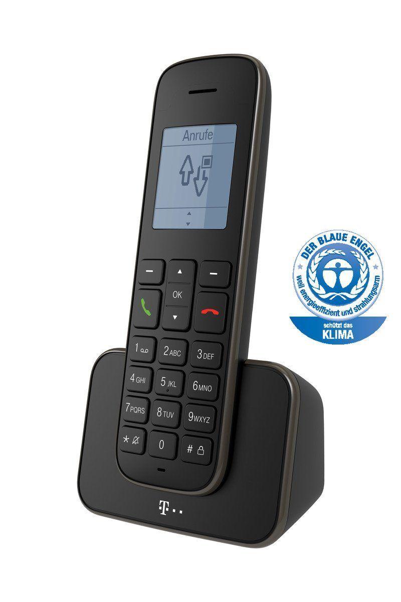 Telekom Telefon Schnurlos »Sinus 207«, Schwarz