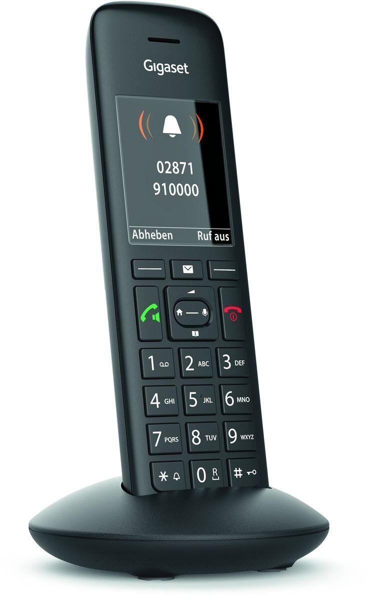 Siemens Gigaset Schnurloses DECT Mobilteil »C570HX«, Schwarz