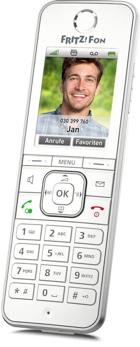 AVM Mobilteil »FRITZ!Fon C6 Mobilteil«, Weiß