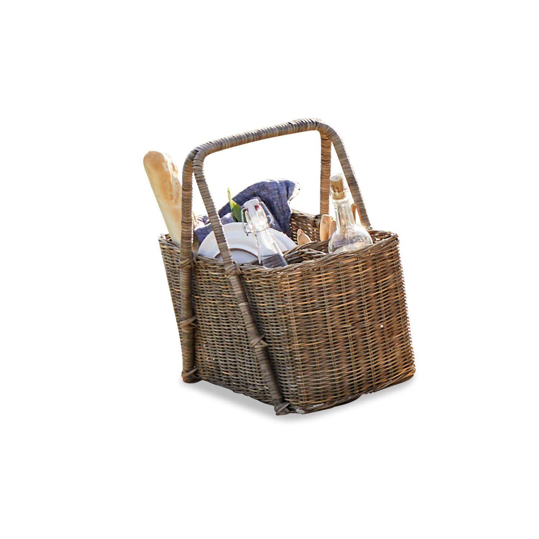 Loberon Picknickkorb »Craven«, braun