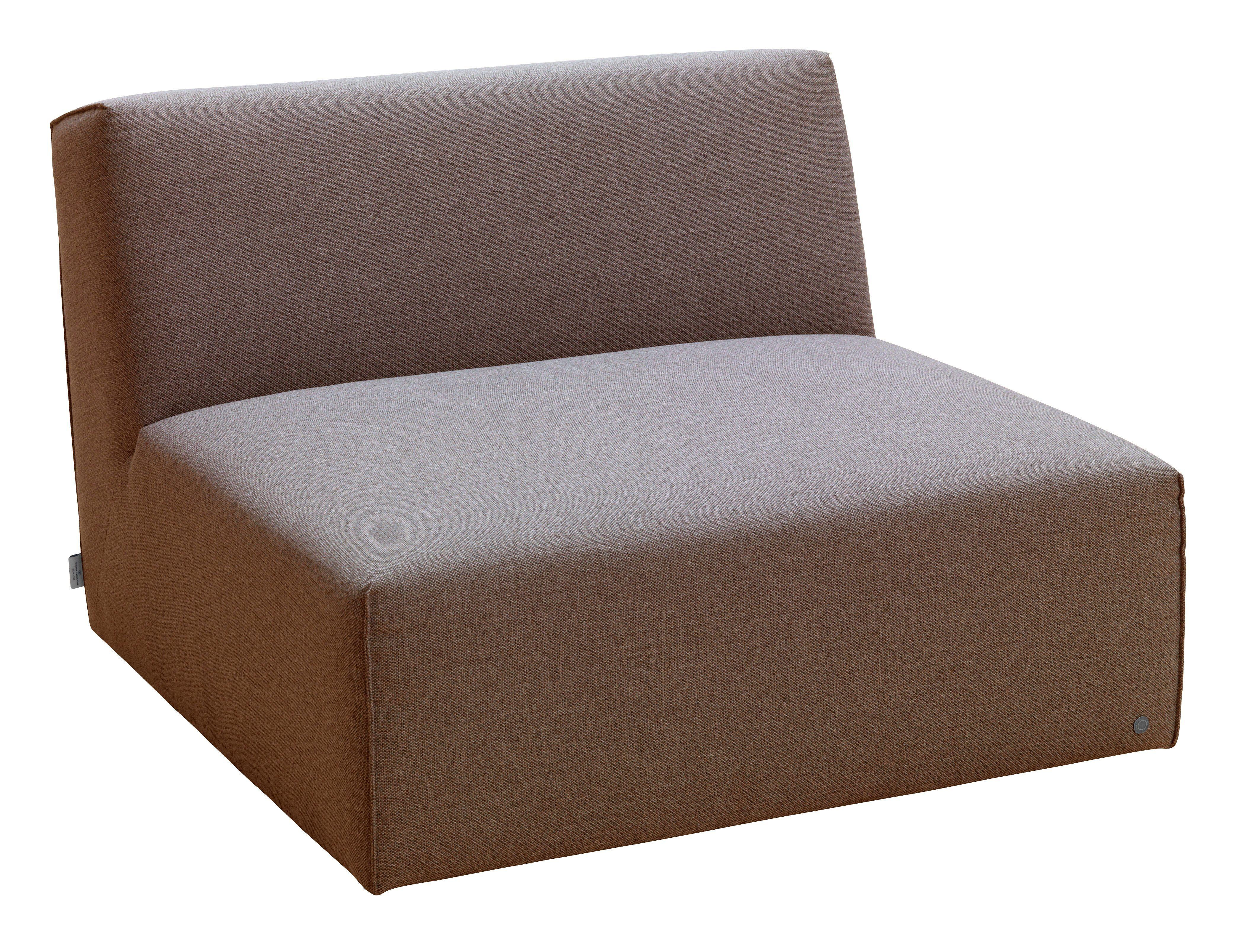 TOM TAILOR Sofaelement »ELEMENTS«, Sitzelement ohne Armlehne, coconut brown TBO 12