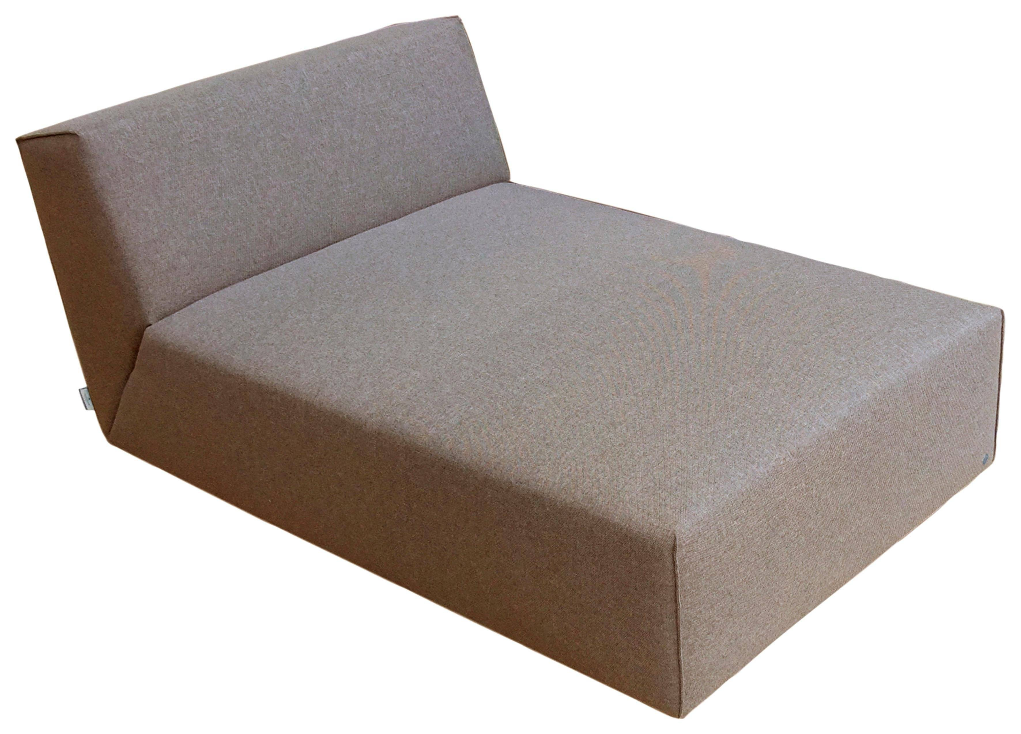 TOM TAILOR Chaiselongue »ELEMENTS«, Sofaelement wahlweise mit Bettfunktion, coconut brown TBO 12