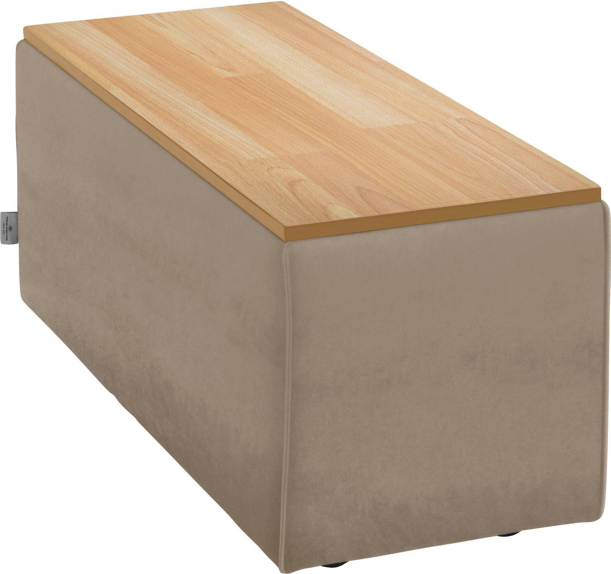 TOM TAILOR Tischelement »ELEMENTS«, Tischplatte in Buche natur, als Couchtisch oder Sofaelement einsetzbar, dune TSV 12