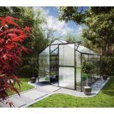 KGT Gewächshaus »Flora IV«, BxTxH: 227x301x204 cm, anthrazit