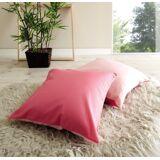 Ticaa Kissen-Set, 2-teilig, pink-rosa