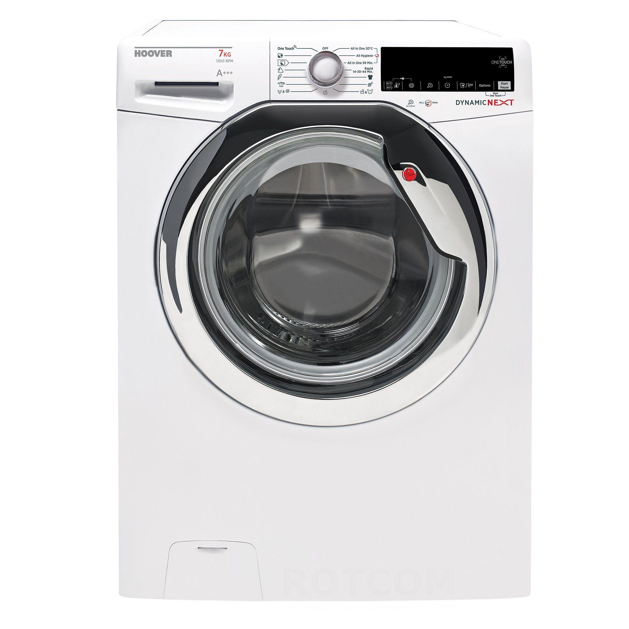 Hoover Waschmaschine DXOA4 37AHC3/1-S A+++, 7 kg, 1300 U/Min, Energieeffizienzklasse A+++