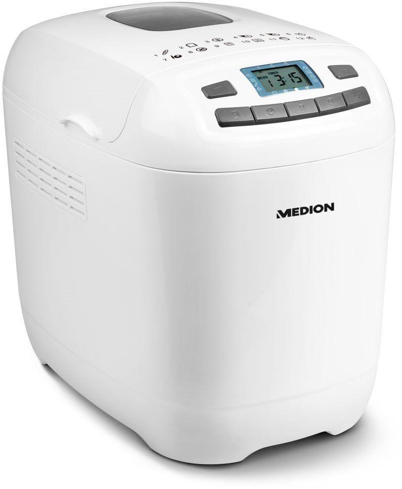 Medion Brotbackautomat MD 18636 / 50063510, 12 Programme, 650 W
