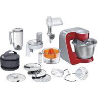 bosch küchenmaschine styline mum56740 3,9l edelstahl-schüssel, automatischer kabeleinzug, zusätzliches zubehör im wert von 111,97€, 900 w