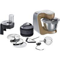 bosch küchenmaschine mum58c10 küchenmaschine mum5 silber/champagner