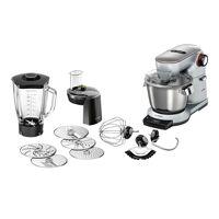 bosch multifunktions-küchenmaschine mum9dt5s41 optimum küchenmaschine, 1500 w, 5.5 l schüssel