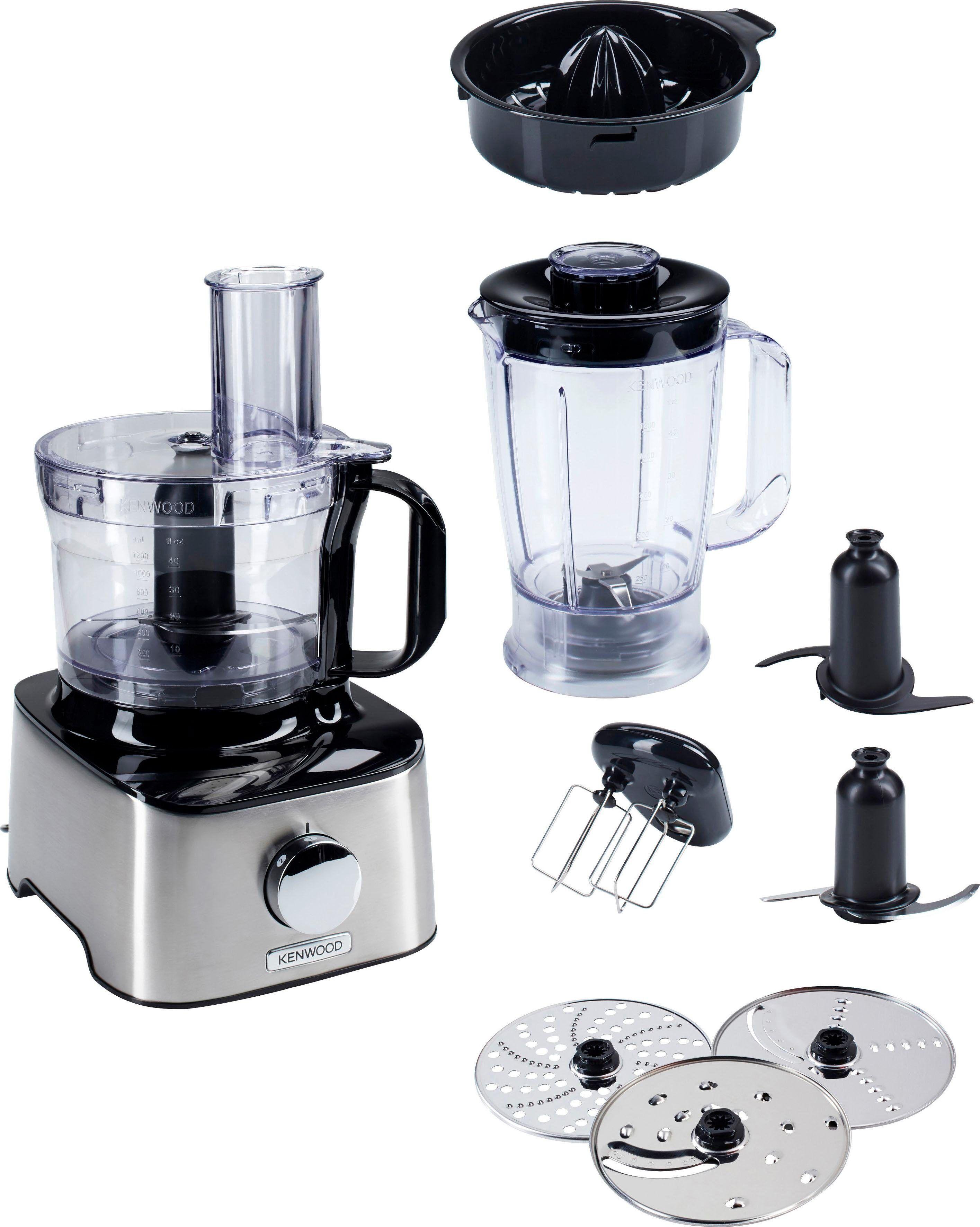 Kenwood Kompakt-Küchenmaschine Multipro Compact FDM301SS, 800 W