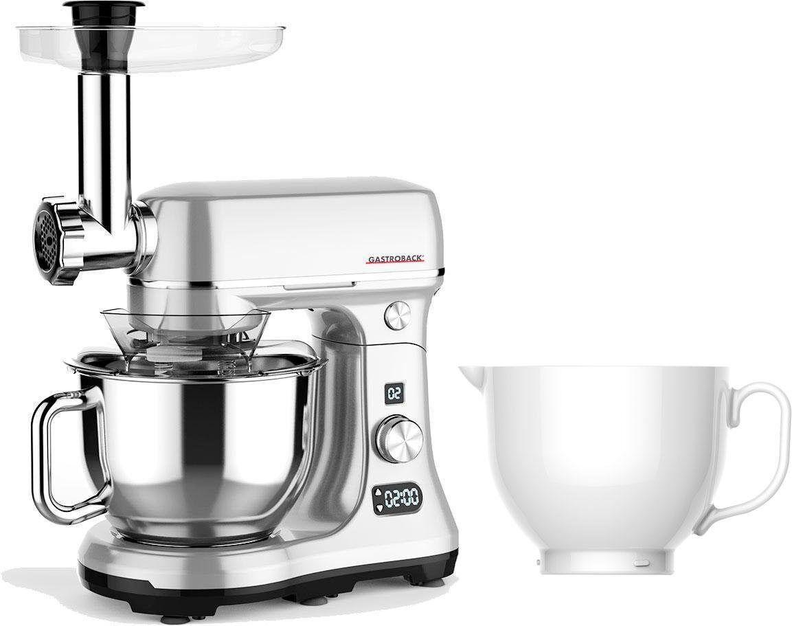 Gastroback Küchenmaschine 40977 Design Advanced Digital, 600 W, 5 l Schüssel