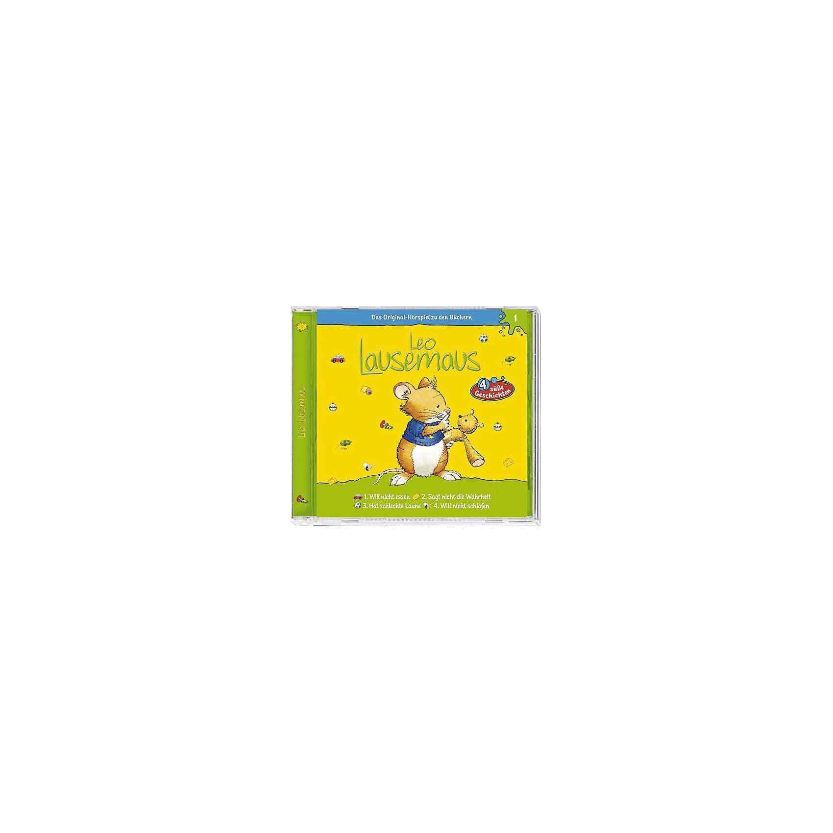 Kiddinx CD Leo Lausemaus 01 (will nicht essen)