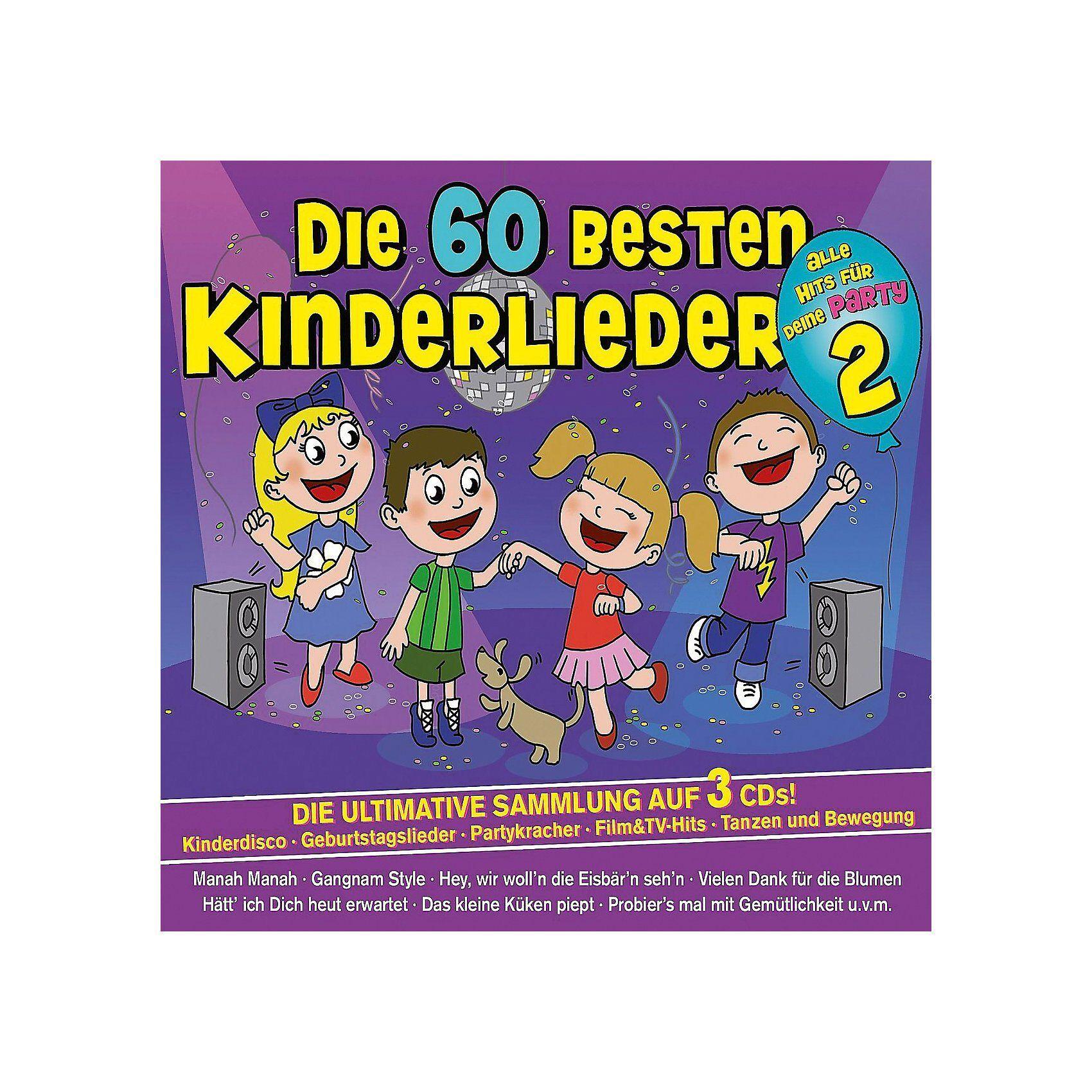 Universal CD Die 60 besten Kinderlieder 2