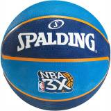Spalding NBA 3x Basketball, blau