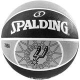 Spalding Team San Antonio Spurs Basketball, grau / schwarz