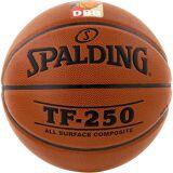 Spalding TF250 DBB Basketball, braun