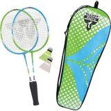 """Talbot-Torro Badminton Set """"Attacker Junior"""", grün"""