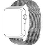 Topp Ersatz-/Wechselarmband »Mesh für Apple Watch (42/44 mm)«, Silber