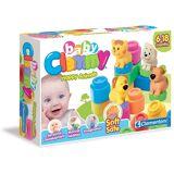 Clementoni® Spielbausteine »Clemmy Baby Tiere«, Franprene, bunt