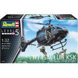 Revell® Modellbausatz »H145M LUH KSK«, Maßstab 1:32, (267-tlg), Hubschrauber