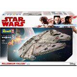 Revell® Modellbausatz »Dinsey Star Wars™ Millennium Falcon™«, Maßstab 1:72, (52-tlg), Raumschiff, Maßstab 1:72