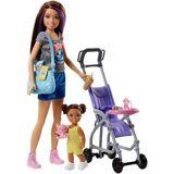 Mattel Anziehpuppe »Barbie Skipper Babysitters Inc. mit Kinderwagen«