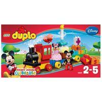 lego konstruktionsspielsteine »geburtstagsparade (10597), duplo® disney mickey mouse clubhouse««, (24 st)