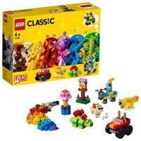 lego konstruktionsspielsteine »bausteine - starter set (11002), classic«, (300 st)