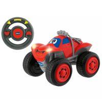 chicco spielzeug-auto »r/c fernlenk-auto billy big wheels, gelb«, rot