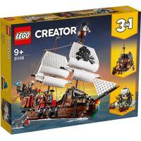 lego konstruktions-spielset »creator 31109 piratenschiff«