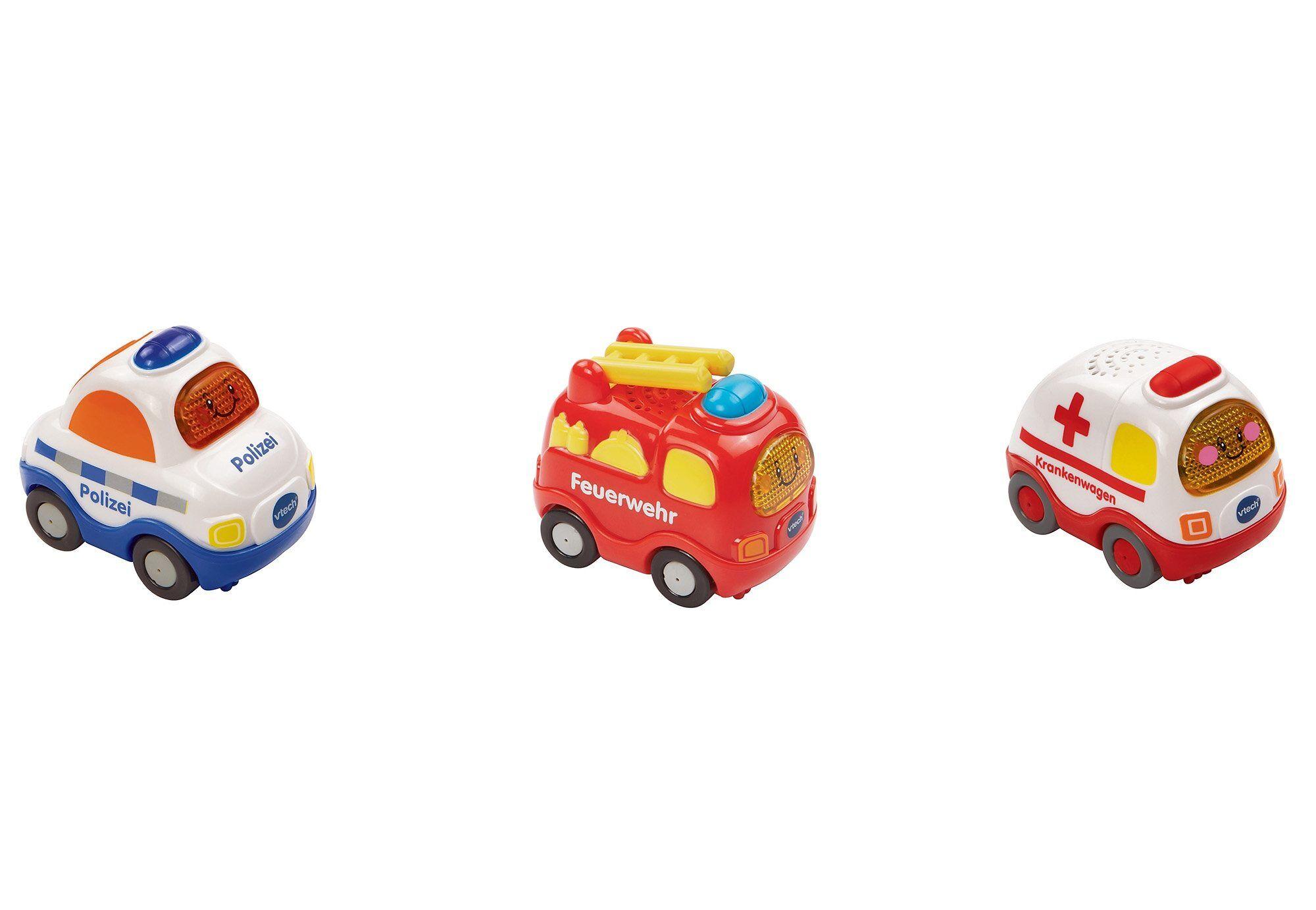 Vtech® Spielzeug-Auto »Tut Tut Baby Flitzer«, (Set, 3-tlg), bunt