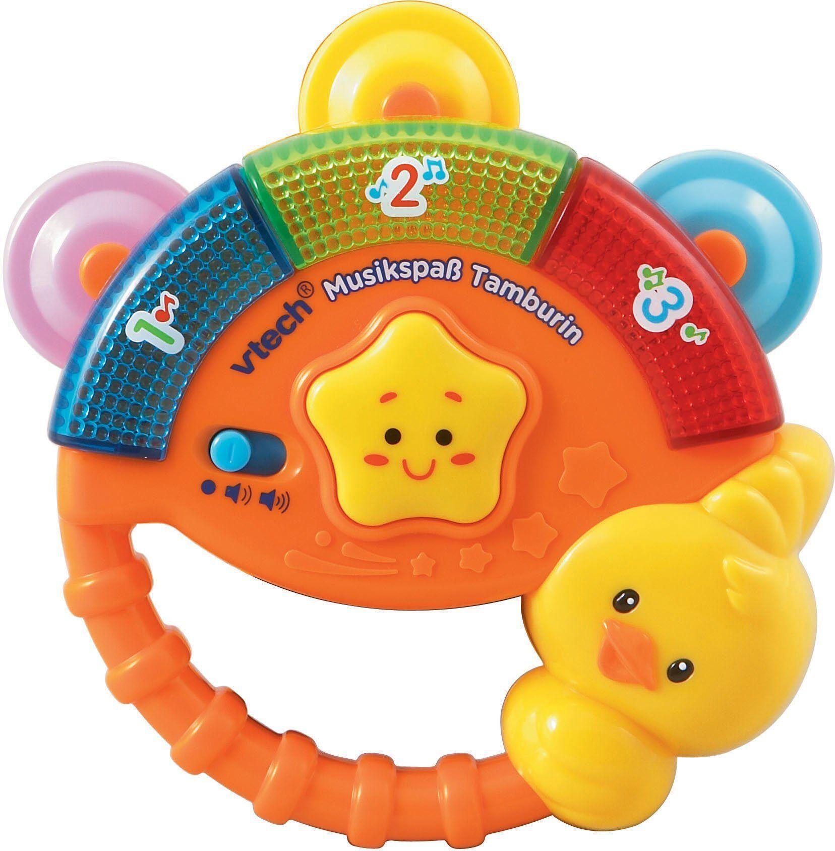 Vtech® VTech Elektronisches Spielzeug mit Licht und Sound, »VTech Baby Musikspaß Tamburin«