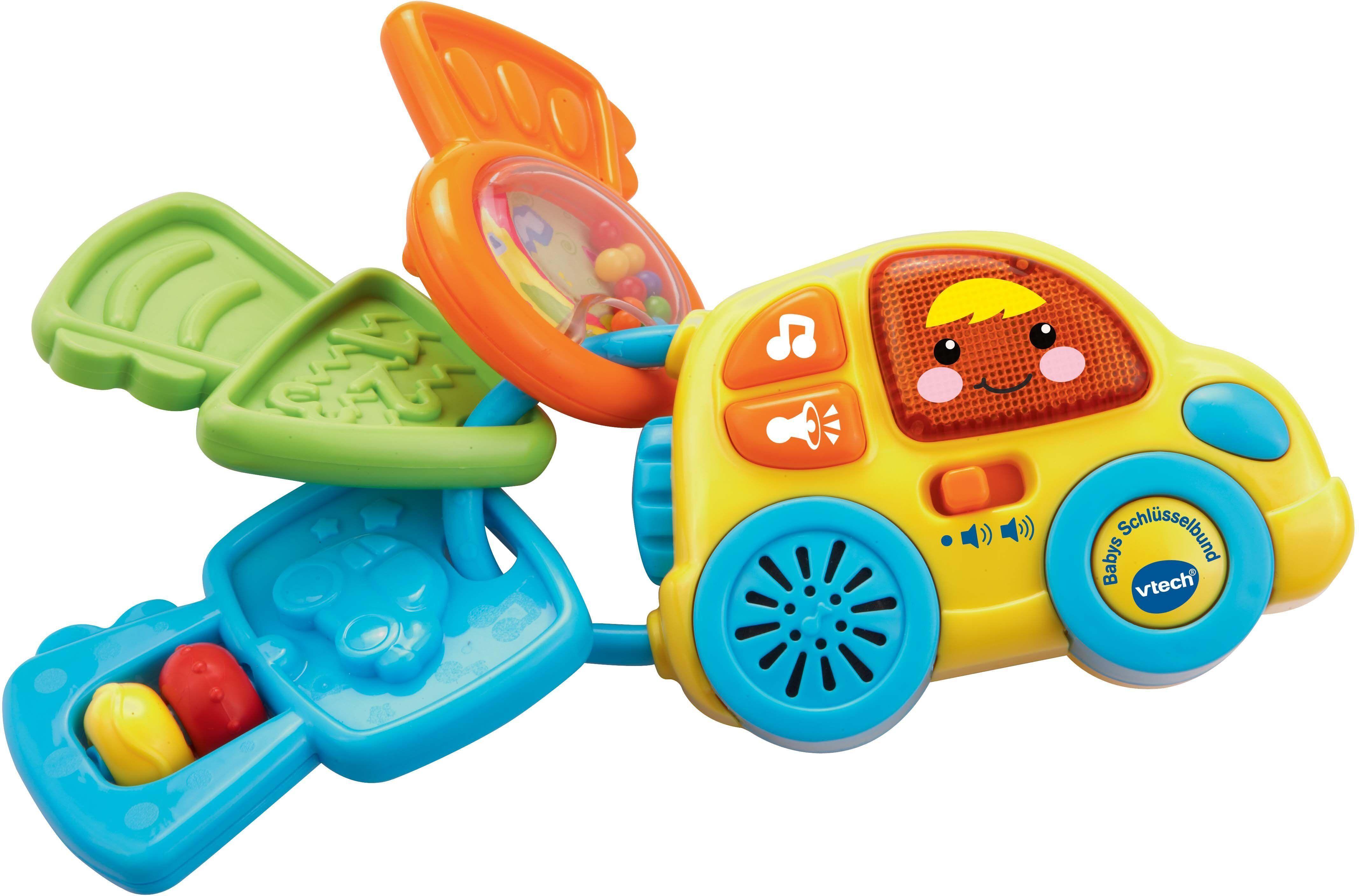 Vtech® VTech Elektronisches Spielzeug mit Licht und Sound, »VTech Baby Babys Schlüsselbund«