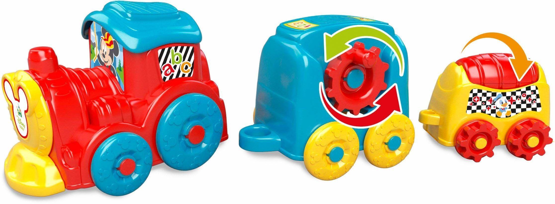 Clementoni® Spielzeug-Eisenbahn »Disney Baby, Stapelzug«, bunt