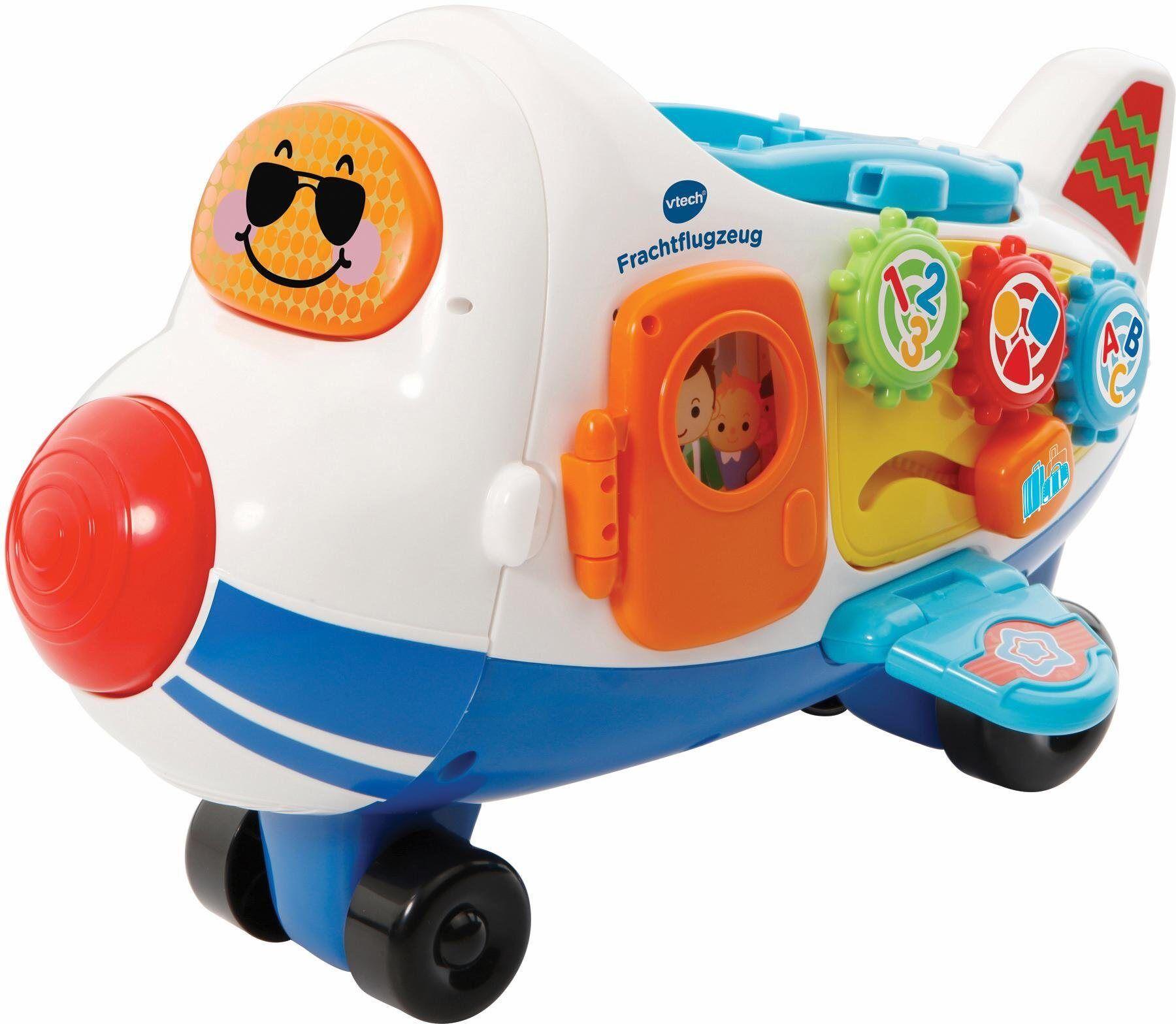 Vtech® Spielzeug-Flugzeug »Tut Tut Baby Flitzer Frachtflugzeug«, bunt