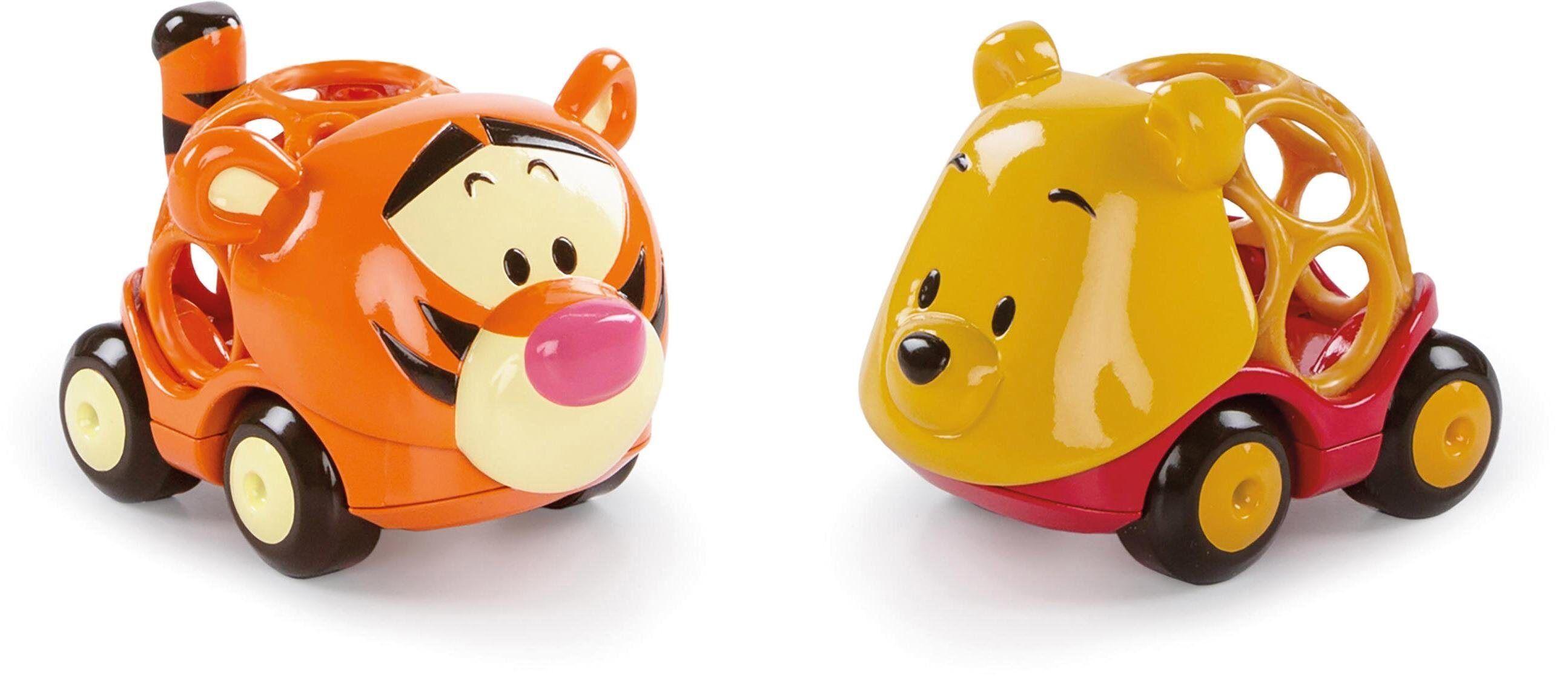 Kids II Spielzeug-Auto »Disney Baby Go Grippers, Winnie the Pooh & Tigger«, (Set)