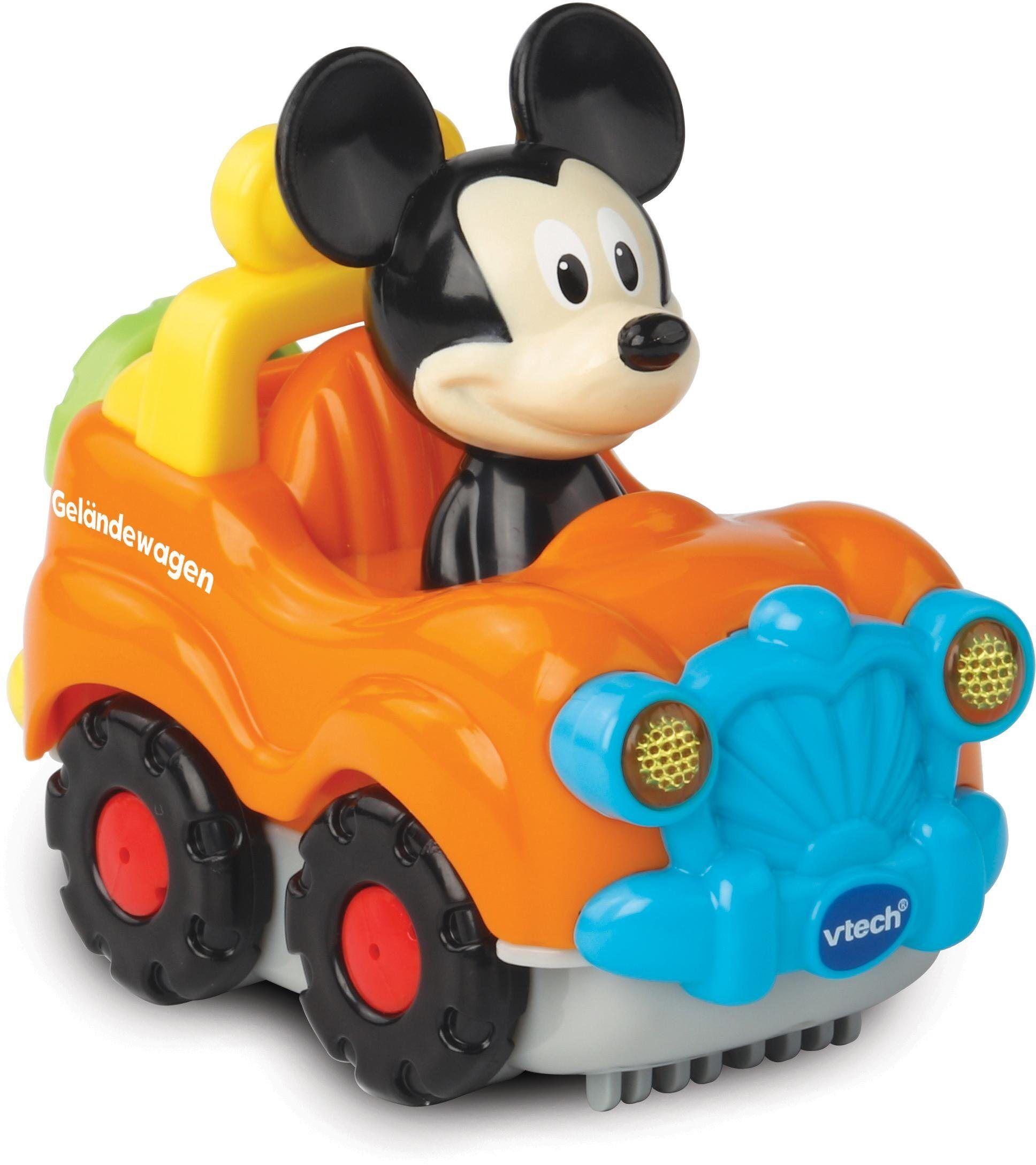 Vtech® Spielzeug-Auto »TutTut Baby Flitzer Mickys Geländewagen«, mit Licht und Sound, orange