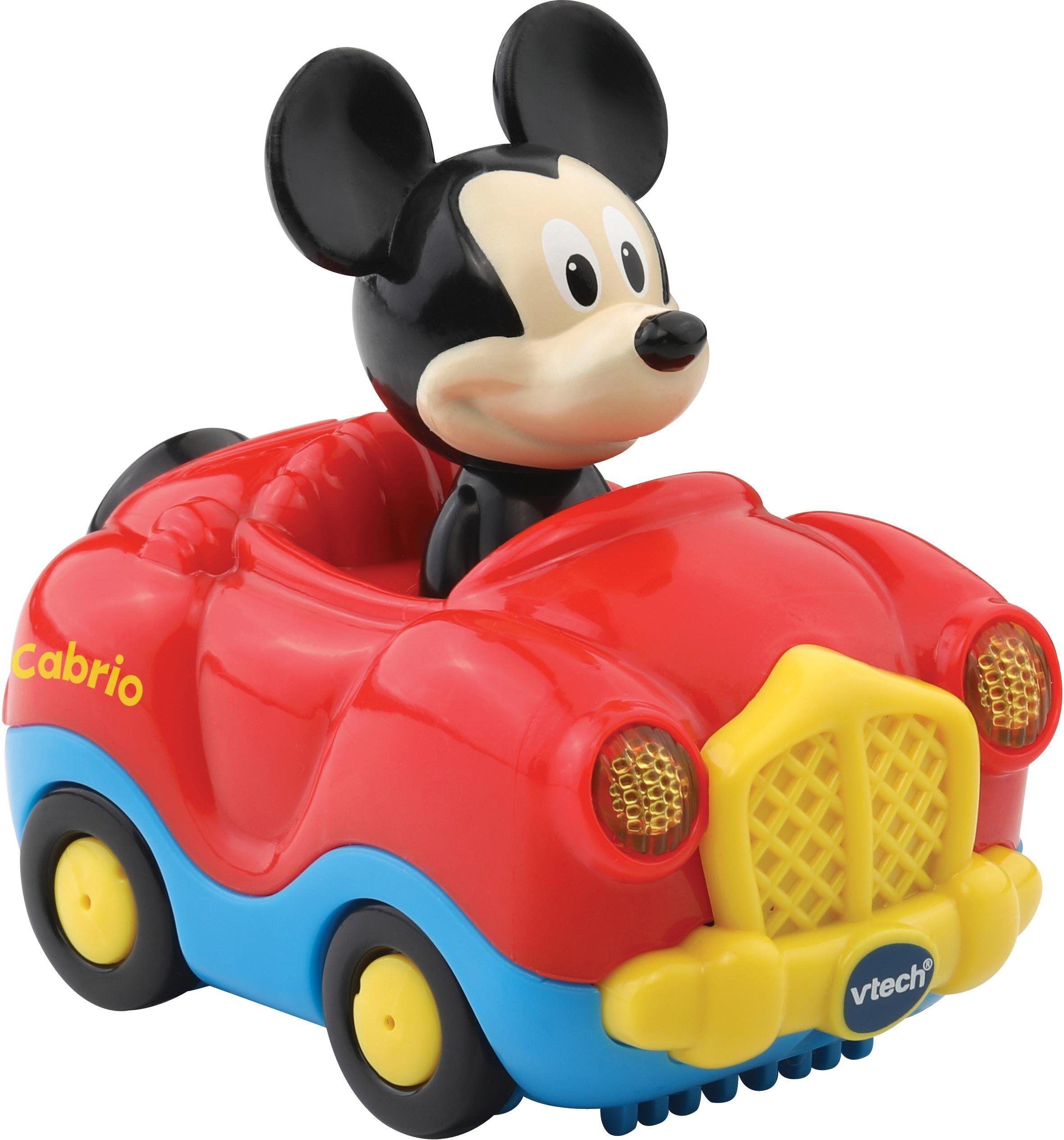 Vtech® Spielzeug-Auto »TutTut Baby Flitzer Mickys Cabrio«, mit Licht und Sound, rot