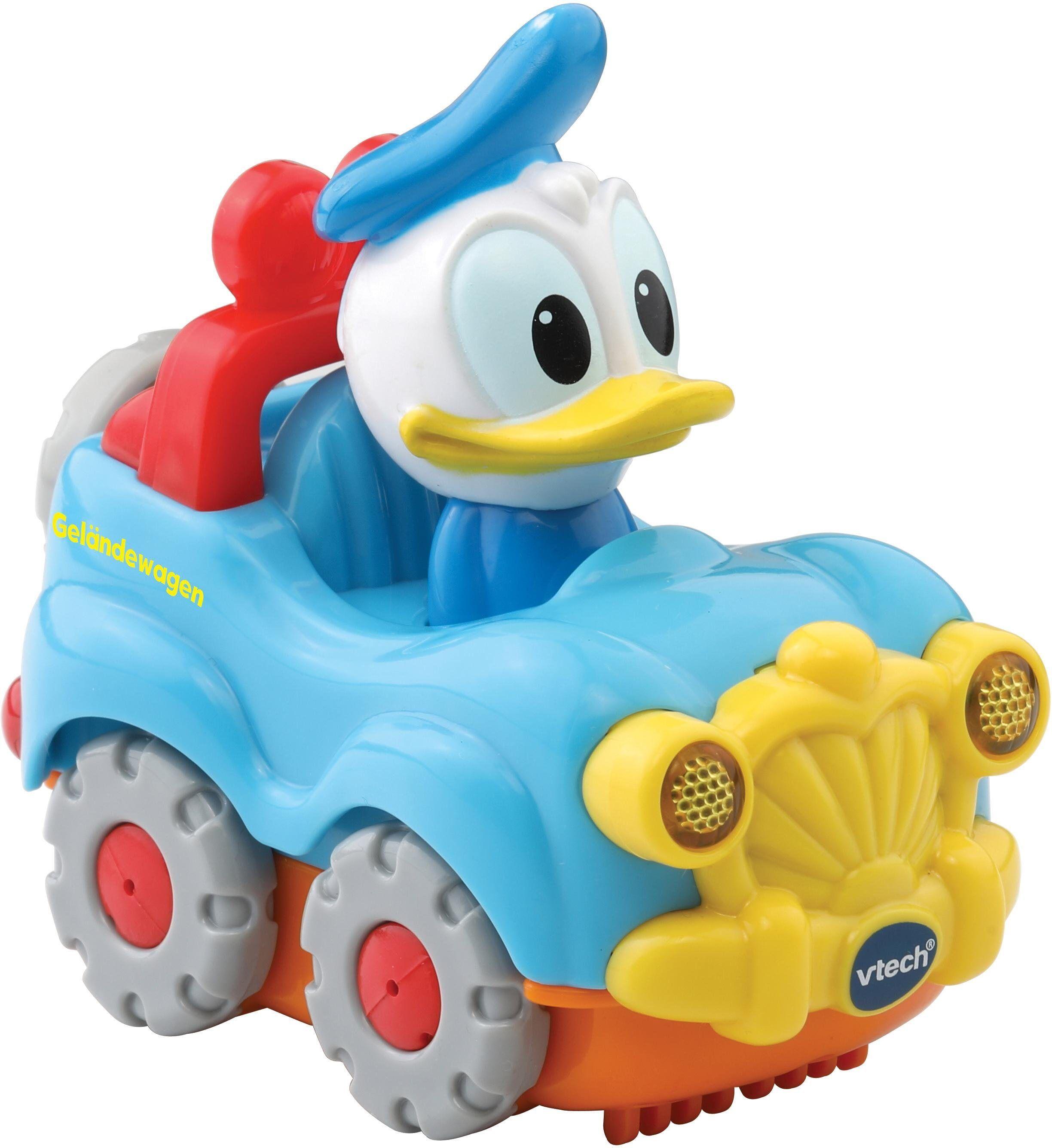 Vtech® Spielzeug-Auto »TutTut Baby Flitzer Donalds Geländewagen«, mit Licht und Sound, bunt