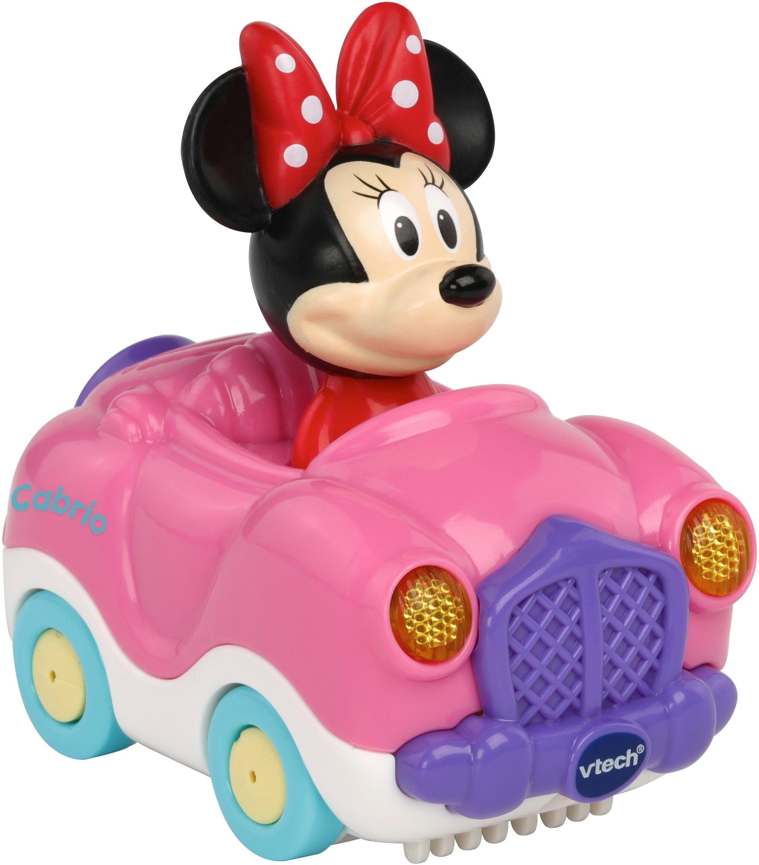 Vtech® Spielzeug-Auto »TutTut Baby Flitzer Minnies Cabrio«, mit Licht und Sound, rosa