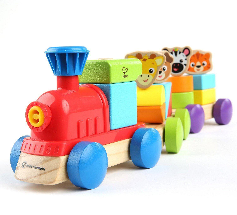 Hape Spielzeug-Eisenbahn »Baby Einstein, Entdecker-Zug«, mit Sound