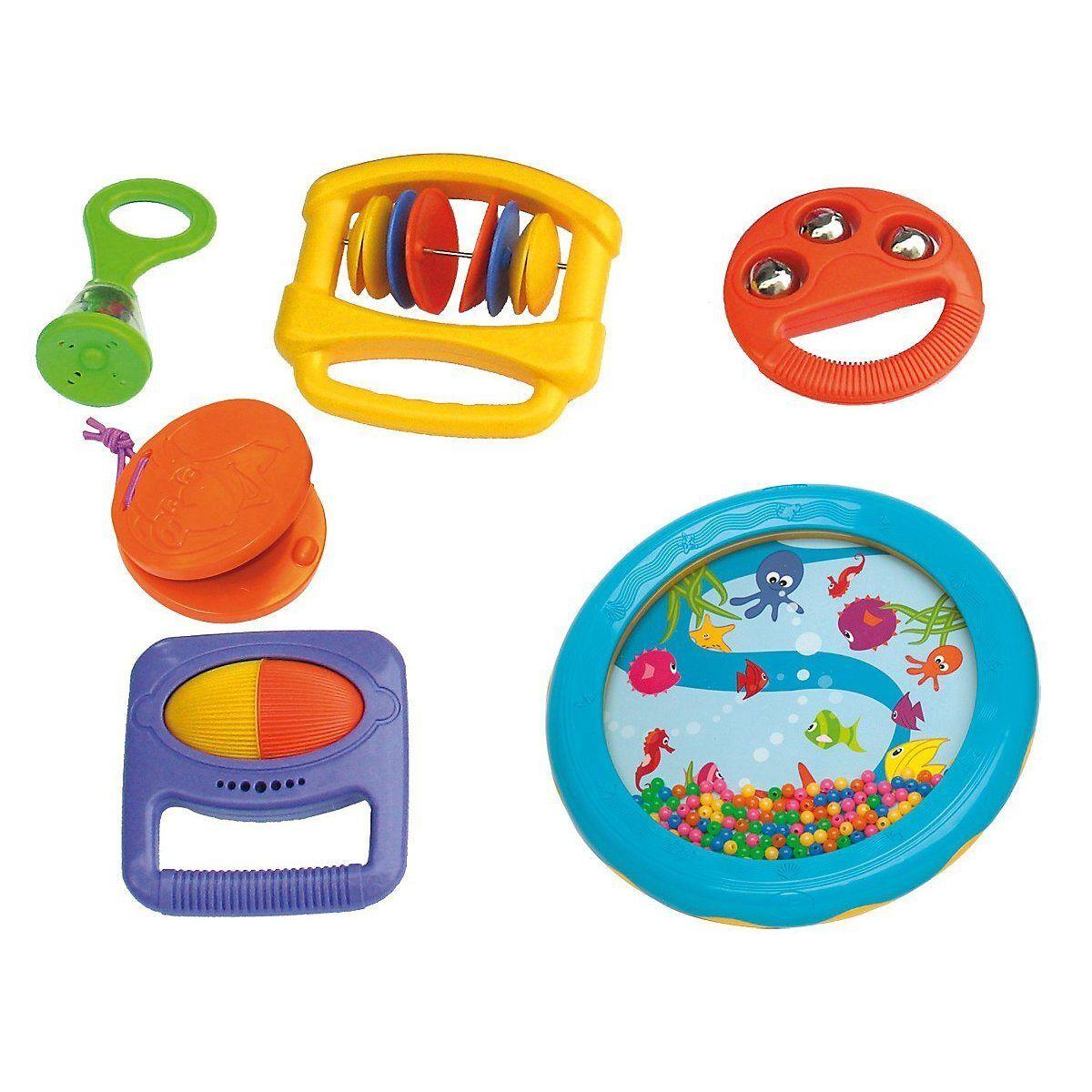 Voggenreiter Spielzeug-Musikinstrument »Baby-Rhythmus-Set 6-tlg.«