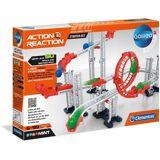 Clementoni® Kugelbahn »Galileo - Action & Reaction - Starter Set«, bunt