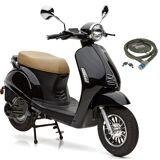 Nova Motors E-Motorroller »Grace«, 3000 W, 45 km/h, 3000 Watt, 45 km/h, schwarz