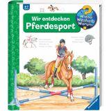 Ravensburger Buch »Wir entdecken Pferdesport - Wieso? Weshalb? Warum?«, bunt