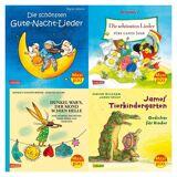 Carlsen Verlag Maxi Pixi: Die schönsten Reime und Lieder, 4 Hefte