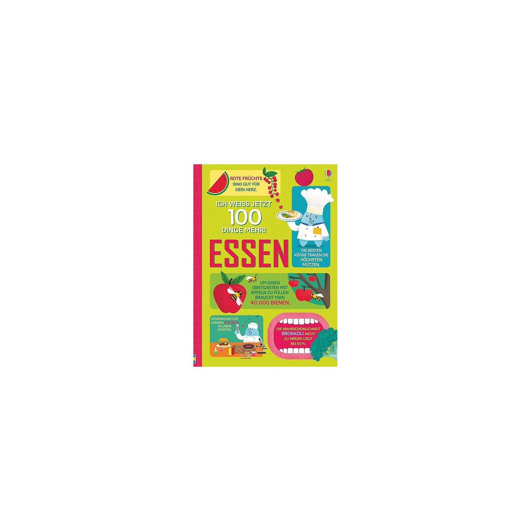 Usborne Verlag Ich weiß jetzt 100 Dinge mehr! Essen